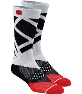 RIFT CALCETINES GRIS/RED/WHITE