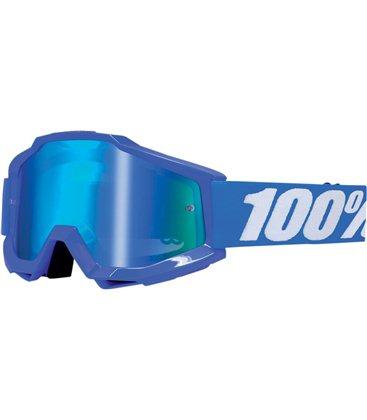 ACCURI REFLEX BLUE GAFAS OFFROAD CON LENTES AZUL ESPEJO