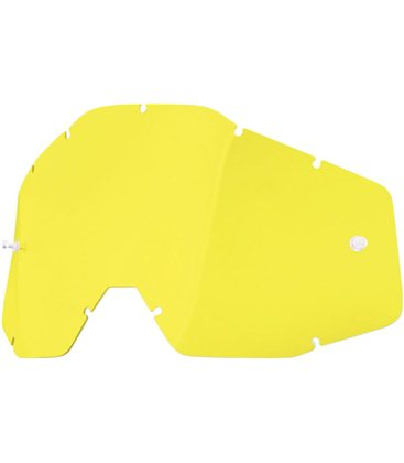 YELLOW REPLACEMENT LENS FOR 100% GAFAS OFFROADS