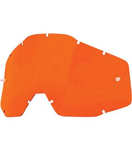 NARANJA REPLACEMENT LENS FOR 100% GAFAS OFFROADS