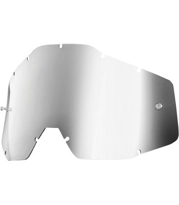 MIRROR SILVER REPLACEMENT LENS FOR 100% GAFAS OFFROADS