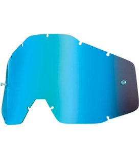 MIRROR BLUE REPLACEMENT LENS FOR 100% GAFAS OFFROADS
