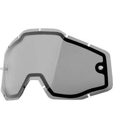 SMOKE DUAL REPLACEMENT LENS FOR 100% GAFAS