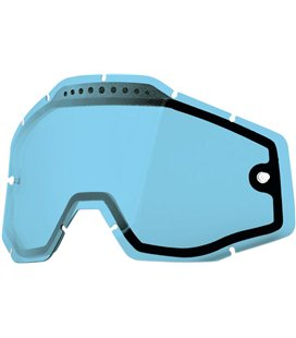BLUE VENTED DUAL REPLACEMENT LENS FOR 100% GAFAS