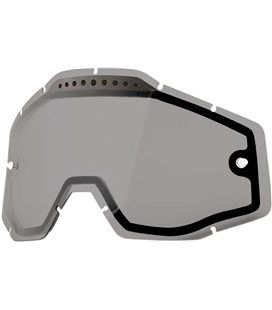 SMOKE VENTED DUAL REPLACEMENT LENS FOR 100% GAFAS