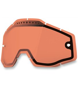 ROSE VENTED DUAL REPLACEMENT LENS FOR 100% GAFAS
