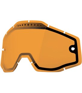 PERSIMMON VENTED DUAL REPLACEMENT LENS FOR 100% GAFAS