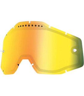 MIRROR GOLD VENTED DUAL REPLACEMENT LENS FOR 100% GAFAS