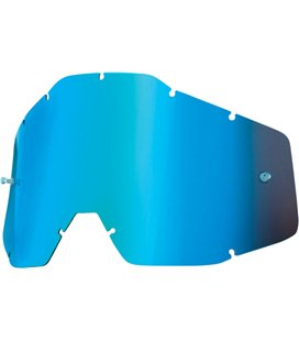 YOUTH MIRROR BLUE REPLACEMENT LENS FOR 100% JR GAFAS