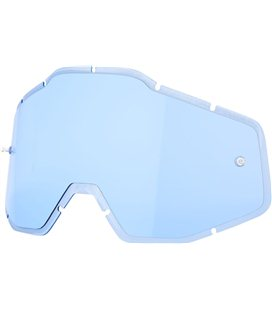 BLUE ANTI-FOG INJECTED REPLACEMENT LENS FOR 100% GAFAS