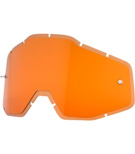 HD PERSIMMON ANTI-FOG INJECTED REPLACEMENT LENS FOR 100% GAFAS