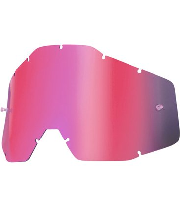 ROSA MIRROR/SMOKE ANTI-FOG INJECTED REPLACEMENT LENS FOR 100% GAFAS