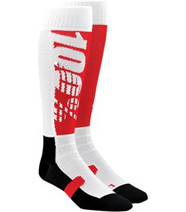 HI-SIDE MOTO CALCETINES RED/WHITE/NEGRO S/M