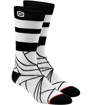 FRACTURE CALCETINES NEGRO/WHITE S/M