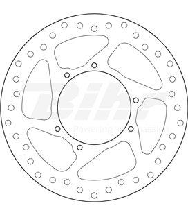 HONDA 450 CRF 15  - DISCO DELANTERO BREMBO