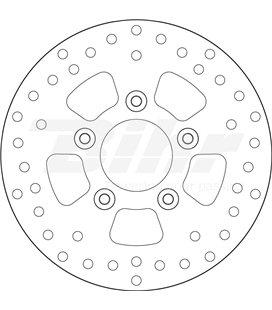 PEUGEOT 50 TWEET RS 13  - DISCO DELANTERO BREMBO