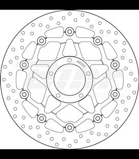 DUCATI 939 HYPERSTRADA 16  - DISCO FLOTANTE DELANTERO BREMBO
