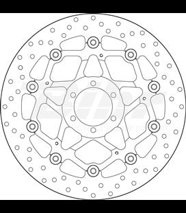 DUCATI MONSTER S2 R 1000 06' - 07' DISCO FLOTANTE DELANTERO BREMBO