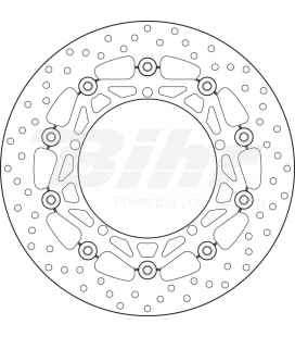 TRIUMPH 1050 SPEED TRIPLE ABS 09  - DISCO FLOTANTE DELANTERO BREMBO