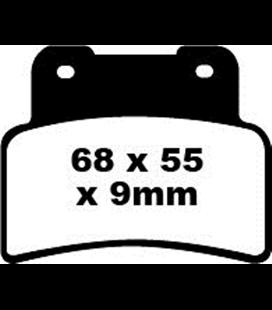 APRILIA NA 850 GT ABS 09' - 16' EBC SINTETIZADAS DELANTERAS