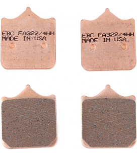 DUCATI 998 S 02' - 02' EBC SINTETIZADAS DELANTERAS