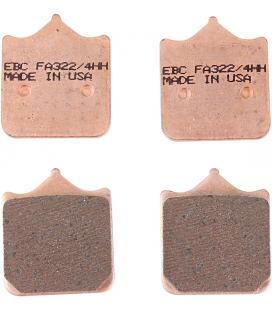 DUCATI 998 S 04' - 04' EBC SINTETIZADAS DELANTERAS