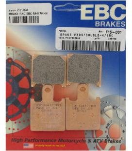 KAWASAKI GTR 1400 ABS 10' - 14' EBC SINTETIZADAS DELANTERAS