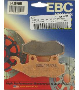 KYMCO ZING II 125 08' - 13' EBC SINTETIZADAS DELANTERAS