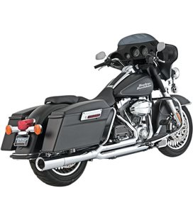 HARLEY DAVIDSON ELECTRA GLIDE ULTRA CLASSIC SCREAMIN EAGLE 2007 - 2007 EXHAUST PRO PIPE CHROME