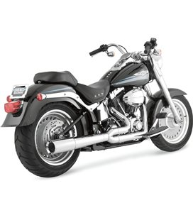 HARLEY DAVIDSON FAT BOY SPECIAL 2010 - 2010 EXHAUST PRO PIPE CHROME
