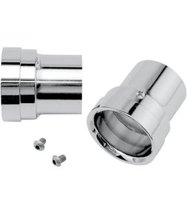 HARLEY DAVIDSON HERITAGE SOFTAIL CLASSIC 2007 - 2010 EXHAUST REPLACEMENT END CAPS