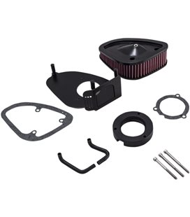 HARLEY DAVIDSON ROAD KING SPECIAL 107 2017 - 2018 FILTRO AIRE NEGRO