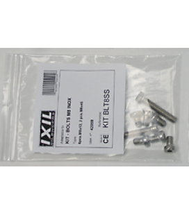 IXIL EXHAUST CLAMP STAINLESS STEEL NW 34-37MM
