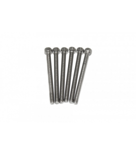 IXRACE SCREW SET END CAP LONG 6 PCS.