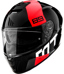 CASCO MT BLADE 2 SV 89 B5 ROJO BRILLO
