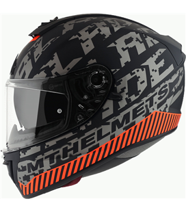 CASCO MT BLADE 2 SV CHECK B5 GRIS MATE