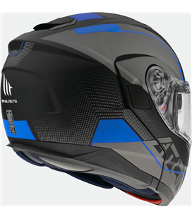 CASCO MT ATOM SV QUARK A7 AZUL MATE