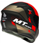 CASCO MT TARGO RIGEL A5 ROJO MATE