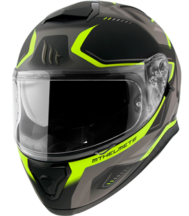 CASCO MT THUNDER 3 SV TURBINE C3 MATE AMARILLO FLUOR
