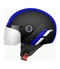CASCO MT STREET SCOPE D7 AZUL BRILLO