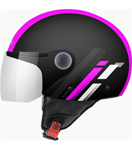CASCO MT STREET SCOPE D8 ROSA FLUOR BRILLO