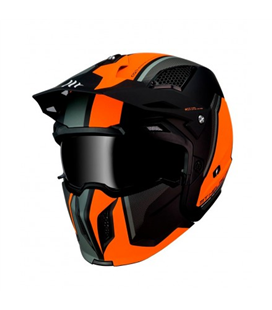 CASCO MT STREETFIGHTER SV SOLID A1 NEGRO MATE