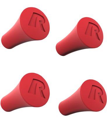 Red X-Grip Post Caps