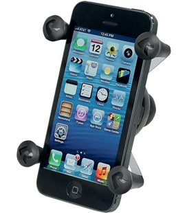 "RAM MOUNT HOLDER X-GRIP UNIVERSAL WITH 1"" BALL"