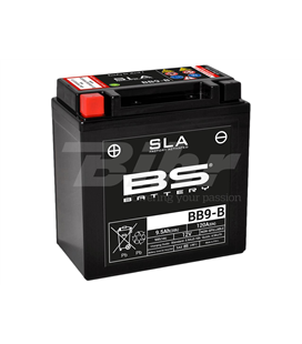 DERBI SONAR 50 09' - 10' BATERIA BS (SLA/GEL)