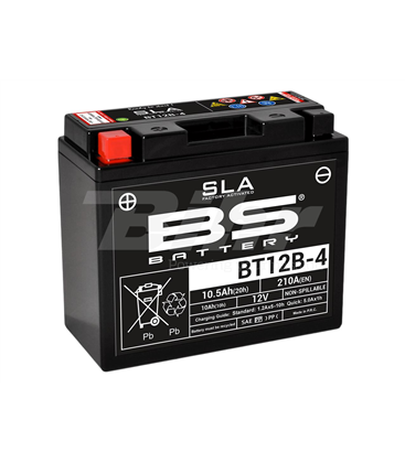 DUCATI MONSTER 1100 09' - 13' BATERIA BS (SLA/GEL)