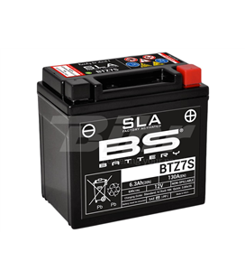 HUSABERG FS 450  BATERIA BS (SLA/GEL)