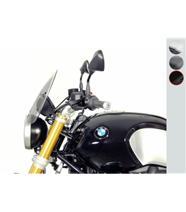 BMW R nineT NEGRO CUPULA MRA TOURING