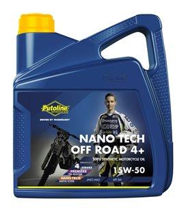 4 L GARRAFA PUTOLINE OFF ROAD NANO TECH 4+ 15W-50