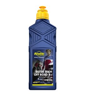 1 L BOTELLA PUTOLINE ESTER TECH OFF ROAD 4+ 10W-40